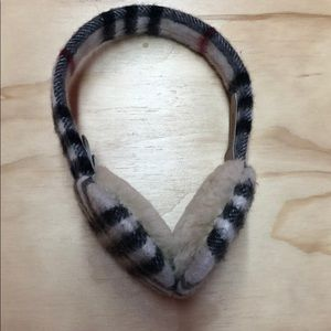 New Burberry ear warmers